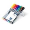 """STAEDTLER Alkoholos marker készlet, OHP, 1 mm, STAEDTLER \""""Lumocolor 317 M\"""", 8 különböző szín [8 db]"""