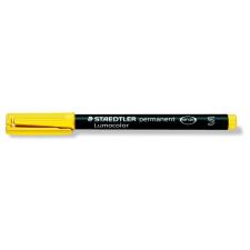 """STAEDTLER Alkoholos marker, OHP, 0,4 mm, STAEDTLER """"Lumocolor 313 S"""", sárga filctoll, marker"""