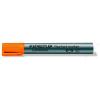 STAEDTLER Flipchart marker, 2,5 mm, vágott, STAEDTLER Lumocolor 356 B, narancssárga (TS356B4)