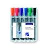 """STAEDTLER Flipchart marker készlet, 2-5 mm, vágott, STAEDTLER """"Lumocolor 356 B"""", 6 különbözõ szín..."""