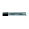 STAEDTLER Flipchart marker, kúpos, STAEDTLER Lumocolor 356, fekete (TS3569)