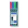 STAEDTLER Marker Lumocolor S 0,4 mm perm.kerek 4db-os-313WP4-10klt/dob-STAEDTLER