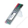 STAEDTLER Rollertoll készlet, 0,4 mm, STAEDTLER Triplus, 4 különböző szín (TS403SB4)