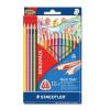 STAEDTLER Színes ceruza háromszögletű 12db+4db ajándék NORIS CLUB STAEDTLER