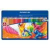 """STAEDTLER Színes ceruza készlet, fém doboz, hatszögletű, STAEDTLER """"Noris Club"""" , 36 különböző szín"""