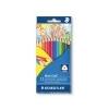 STAEDTLER Színes ceruza készlet, háromszögletû, STAEDTLER Noris Club, 12 különbözõ szín