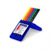 """STAEDTLER Színes ceruza készlet, háromszögletű, vastag, STAEDTLER \""""Ergo Soft Jumbo\"""", 6 különböző szín [6 db]"""