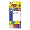 """STAEDTLER Színes ceruza készlet, hatszögletű,  """"Comic"""", 24 különböző szín"""