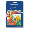 """STAEDTLER Színes ceruza készlet, hatszögletű,  """"Noris Club"""", 36 különböző szín"""