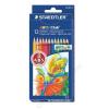 STAEDTLER Színes ceruza készlet, hatszögletű, STAEDTLER Noris Club, 12 különböző szín (TS144NC12)
