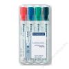 STAEDTLER Táblamarker, 2 mm, kúpos, STAEDTLER 351, 4 különböző szín (TS351WP4)