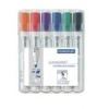 """STAEDTLER Táblamarker készlet, 2-5 mm, vágott, STAEDTLER \""""Lumocolor 351 B\"""", 6 különböző szín [6 db]"""
