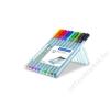 STAEDTLER Tűfilc készlet, 0,3 mm, STAEDTLER Triplus STAEDTLER Box, 10 különböző szín (TS334SB10)