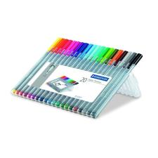 """STAEDTLER Tűfilc készlet, 0,3 mm,  """"Triplus  Box"""", 20 különböző szín filctoll, marker"""