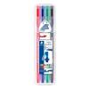 """STAEDTLER Tűfilc készlet, 0,8 mm, STAEDTLER """"Triplus Box"""", 4 különböző szín (TS338SB4)"""