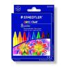 STAEDTLER Zsírkréta, STAEDTLER Noris Club, 8 különbözo szín TS229NC8