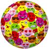 STAR Smiley fejes gumilabda - 23 cm