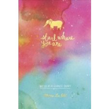 Start Where You Are Week-At-A-Glance Diary – Meera Lee Patel idegen nyelvű könyv