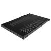 Startech 1U állítható rack polc fekete