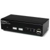 Startech 2 portos USB2.0 KVM switch DDM
