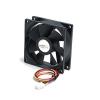 Startech 80x25 rendszer hűtő ventilátor