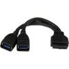 StarTech com 2 PORT INTERNAL USB 3 ADAPTER IN