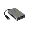 StarTech com Startech.com Thunderbolt Gigabit Ethernet adapter és hub (TB2USB3GE)