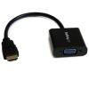Startech HDMI -> VGA M/F adapter 0.2m fekete