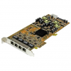 Startech PCI-E x4 10/100/1000Mbps hálózati kártya PSE / PoE