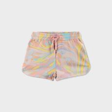 Stella McCartney Beryl Marble Print Shorts