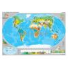 Stiefel A Föld éghajlata és növényzete kétoldalas óriás fali térképposzter