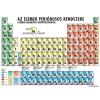 Stiefel Az elemek periódusos rendszere a kémiai jellemzők csoportosításával - 10 db ajándék tanulói munkalappal