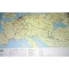 Stiefel Eurocart Kft. A Duna hajózási térképe, Európa víziúthálózata (írható-törölhető-tűzhető keretes)