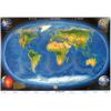 Stiefel Eurocart Kft. A Föld panorámatérképe a tengerfenék domborzatával, tűzhető, keretes