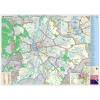 Stiefel Eurocart Kft. Budapest hajtogatott térkép