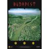 Stiefel Eurocart Kft. Budapest panorámatérképe, tűzhető, fakeretben