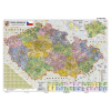Stiefel Eurocart Kft. Csehország közigazgatási térképe, tűzhető, keretes