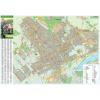 Stiefel Eurocart Kft. Érd város térképe, tűzhető, keretes