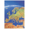 Stiefel Eurocart Kft. Európa panorámatérképe, tűzhető, keretes