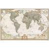 Stiefel Eurocart Kft. Föld antik színezésű térképe