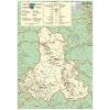Stiefel Eurocart Kft. Hargita megye (Románia) térképe, tűzhető, keretes