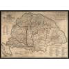 Stiefel Eurocart Kft. Magyarország borászati térképe-keretezett