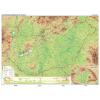 Stiefel Eurocart Kft. Magyarország domborzata tűzhető, keretes