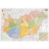 Stiefel Eurocart Kft. Magyarország közigazgatása és közlekedése térkép wandi