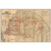Stiefel Eurocart Kft. Régi Magyarország 1876 borászati térkép könyöklő