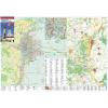 Stiefel Eurocart Kft. Szekszárd és  Szekszárdi borvidék térkép tűzhető, keretes