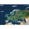 Stiefel Európa a világűrből