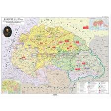 Stiefel Rákóczi állama térkép