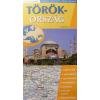 Stiefel Törökország hajtogatott autótérkép