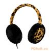 Streetz Streetz HL-297 Headset fülmelegítővel - Tigris mintás